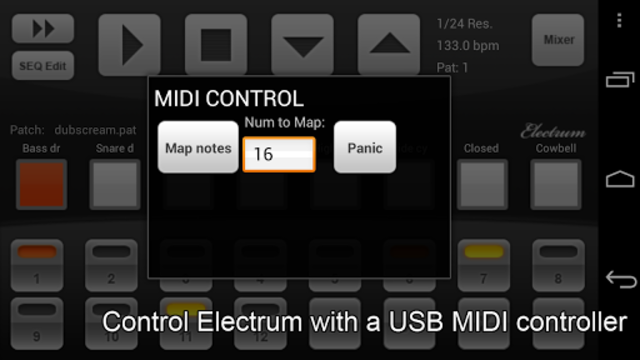 Electrum Drum Machine/Sampler screenshot 6
