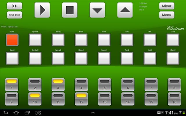 Electrum Drum Machine/Sampler screenshot 9