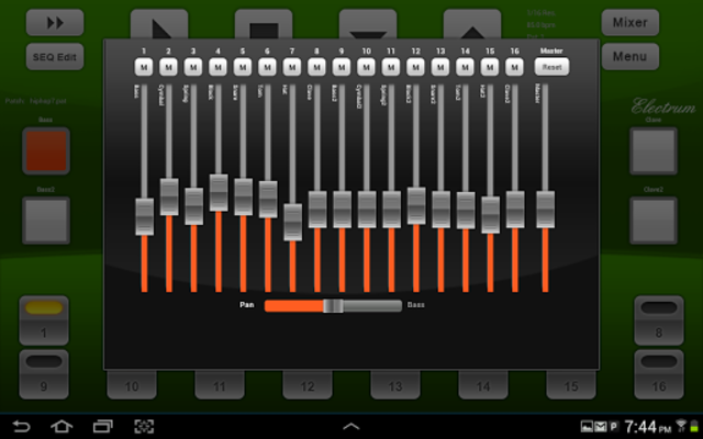 Electrum Drum Machine/Sampler screenshot 10