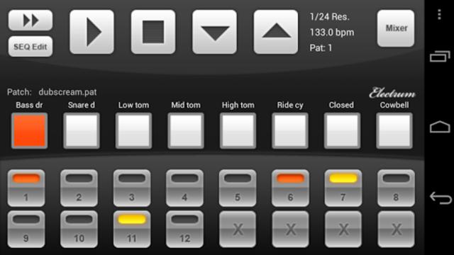 Electrum Drum Machine/Sampler screenshot 11