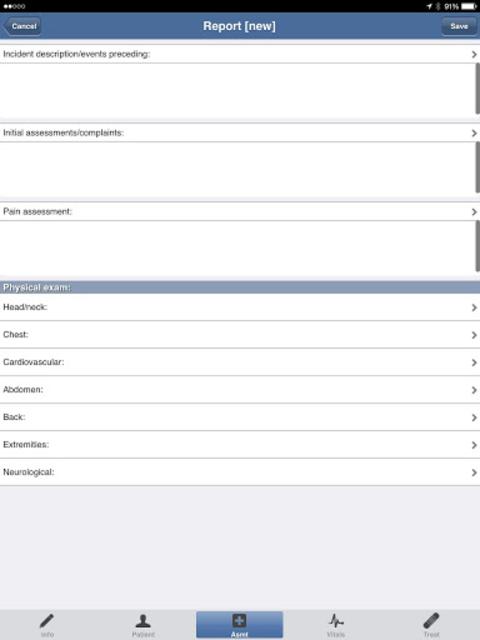 EMS ePCR screenshot 3