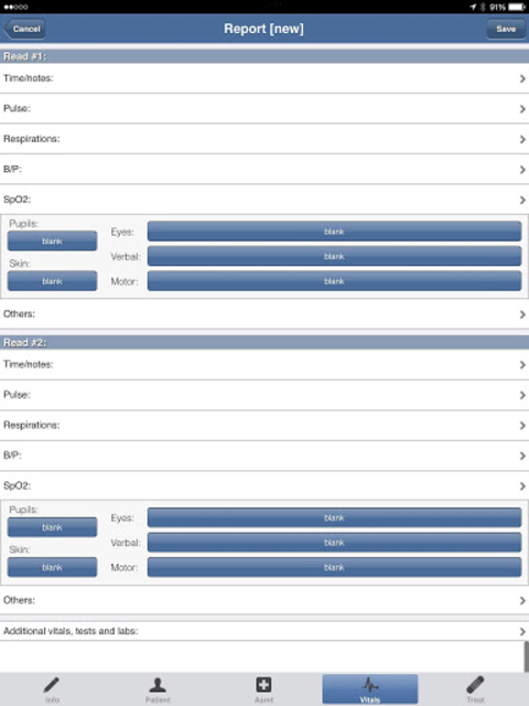 EMS ePCR screenshot 4