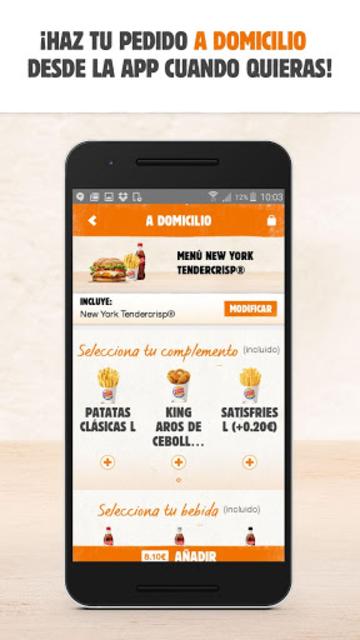 BURGER KING® España screenshot 5