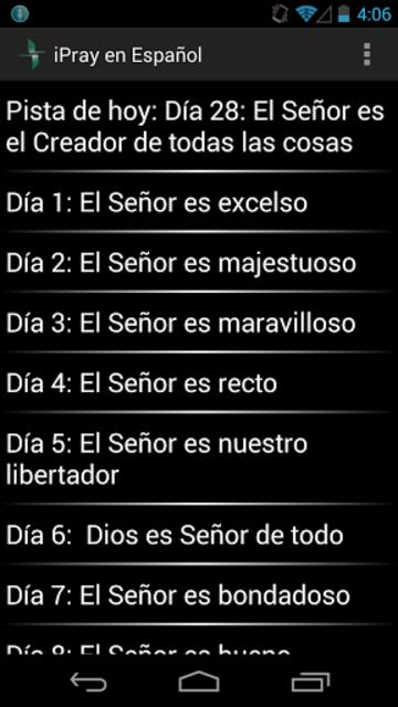 iPray en Español screenshot 1