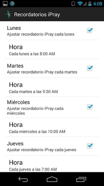 iPray en Español screenshot 2