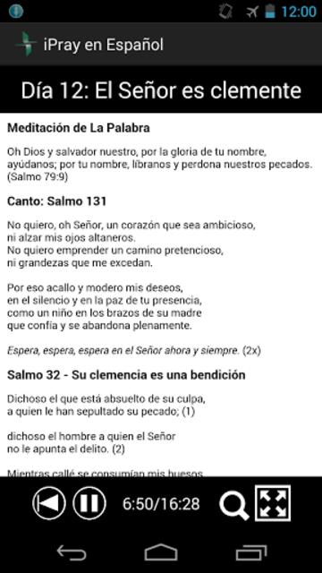 iPray en Español screenshot 5