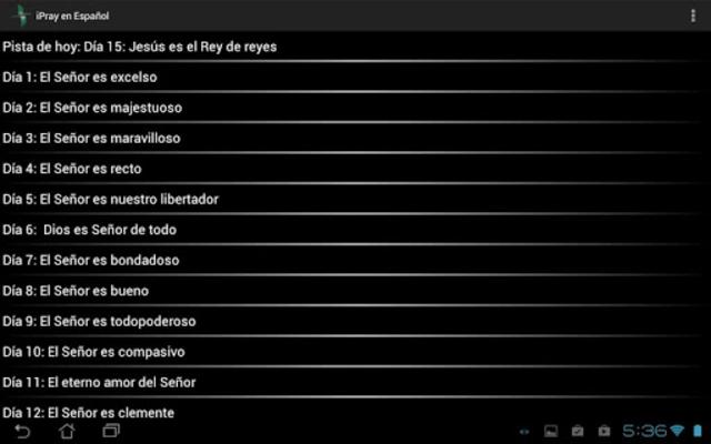 iPray en Español screenshot 11