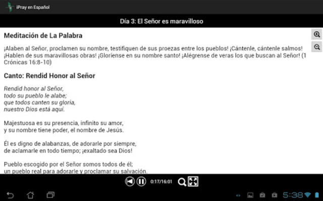 iPray en Español screenshot 12