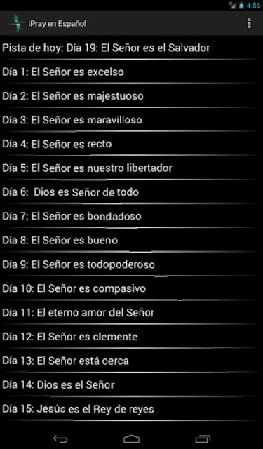 iPray en Español screenshot 14