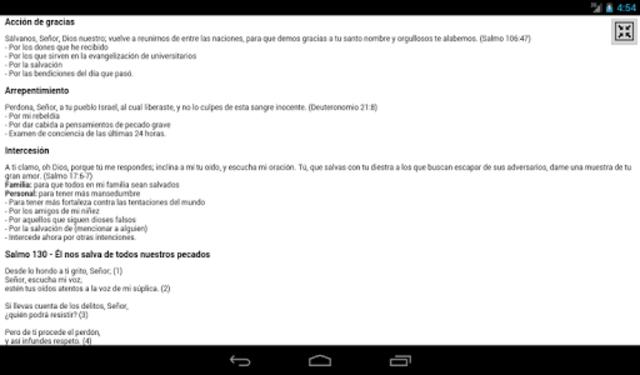 iPray en Español screenshot 17