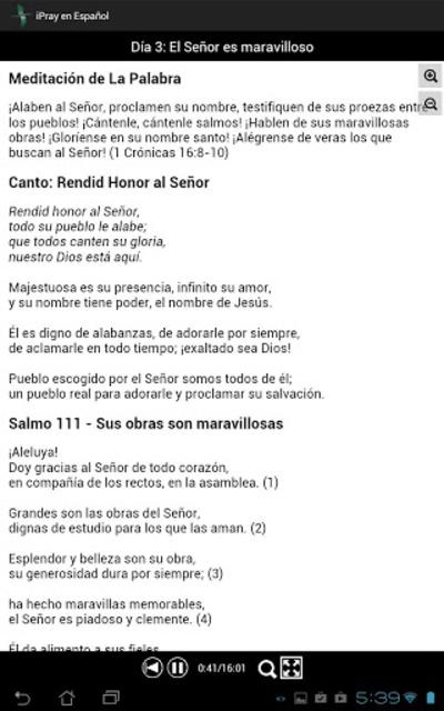 iPray en Español screenshot 13