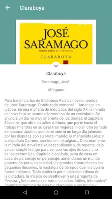 Biblioteca País screenshot 1