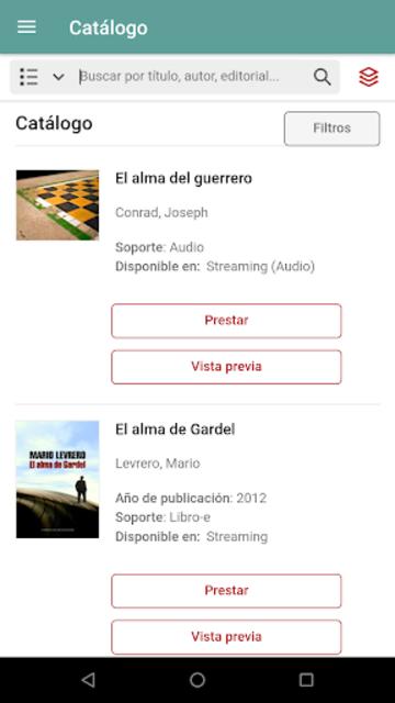 Biblioteca País screenshot 2