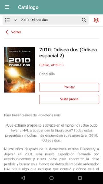 Biblioteca País screenshot 3