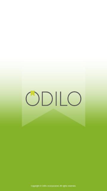 Odilo App screenshot 1