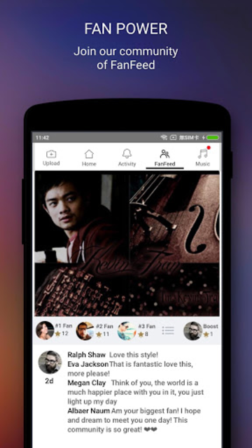 Osric Chau screenshot 3