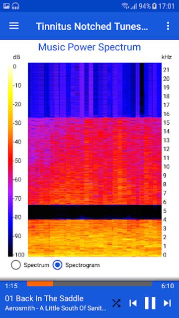Tinnitus Notched Tunes screenshot 4