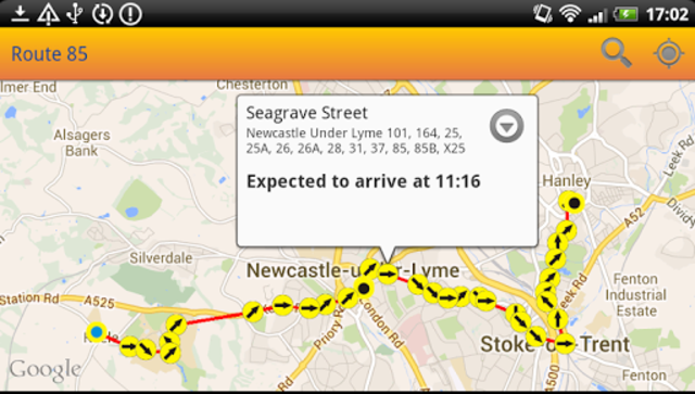 UK Bus Times Live: Bus Scout screenshot 4