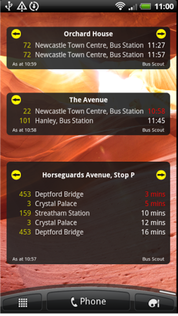 UK Bus Times Live: Bus Scout screenshot 8