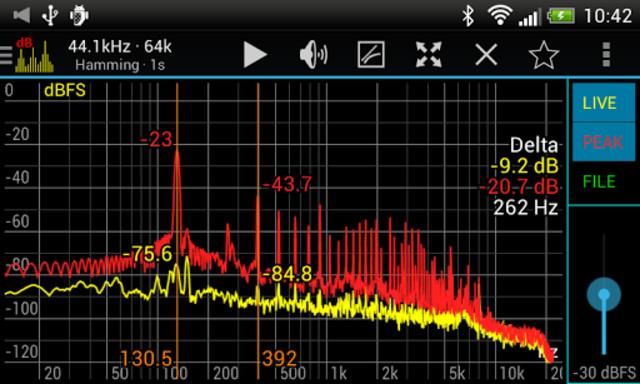 Sound Spectrum Pro screenshot 1