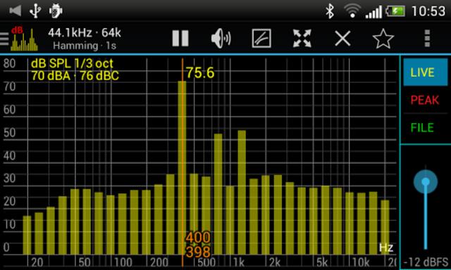 Sound Spectrum Pro screenshot 2