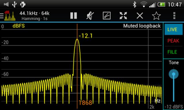 Sound Spectrum Pro screenshot 3