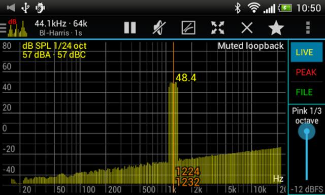 Sound Spectrum Pro screenshot 4