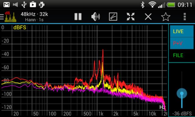Sound Spectrum Pro screenshot 6