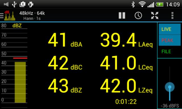 Sound Spectrum Pro screenshot 7