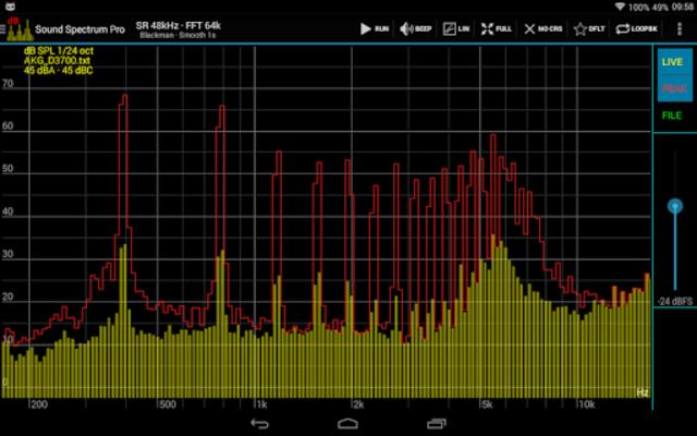 Sound Spectrum Pro screenshot 9