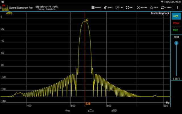 Sound Spectrum Pro screenshot 10