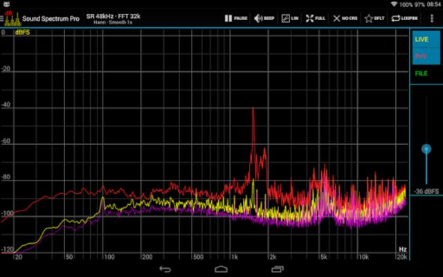 Sound Spectrum Pro screenshot 14