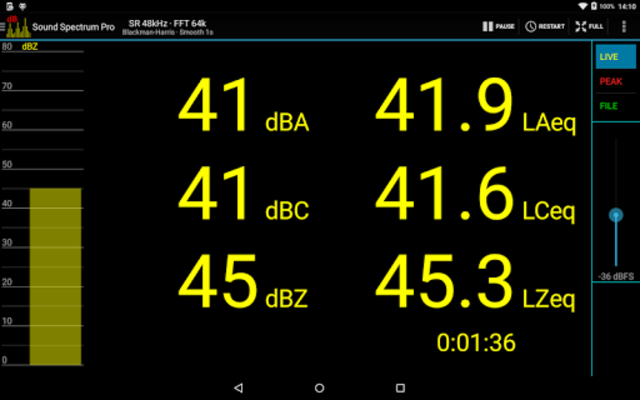 Sound Spectrum Pro screenshot 15