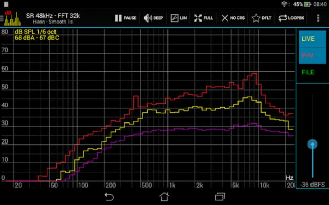 Sound Spectrum Pro screenshot 20