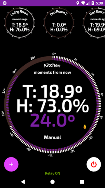 Wifi Smart Thermostat for your home heating. screenshot 1