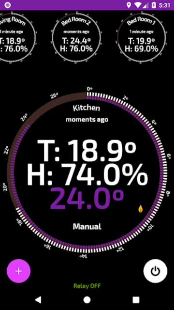 Wifi Smart Thermostat for your home heating. screenshot 2