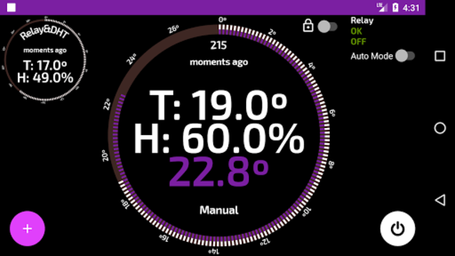 Wifi Smart Thermostat for your home heating. screenshot 3