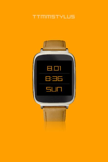 TTMMSTYLUS - Wear watch face screenshot 2