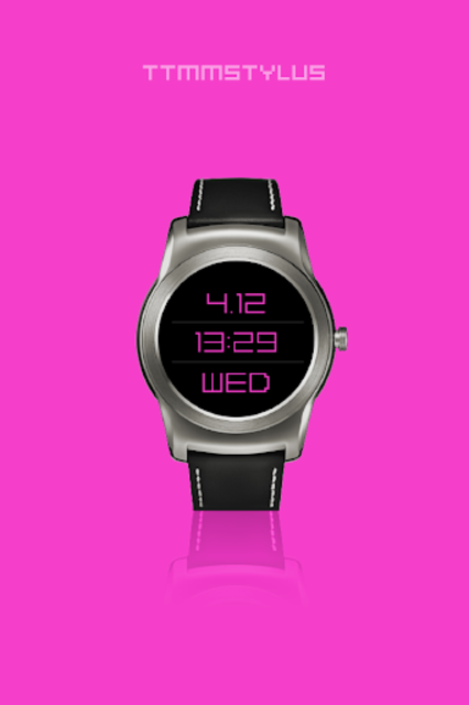 TTMMSTYLUS - Wear watch face screenshot 3