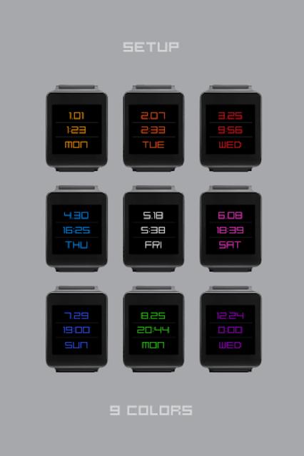 TTMMSTYLUS - Wear watch face screenshot 4