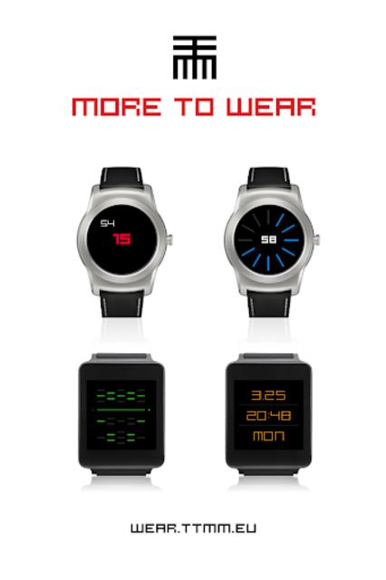 TTMMSTYLUS - Wear watch face screenshot 6