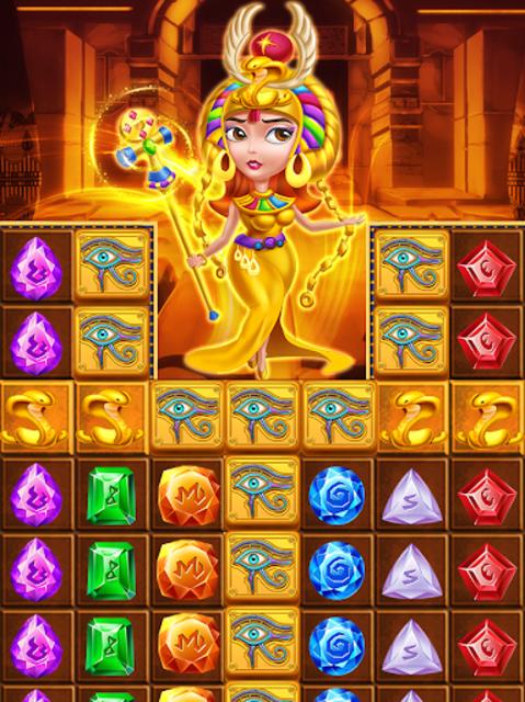 Pharaoh King Jewels Crush screenshot 1