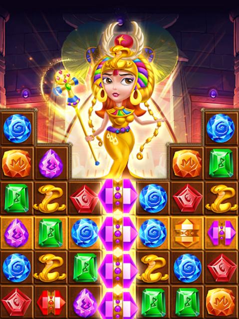 Pharaoh King Jewels Crush screenshot 3