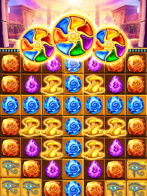 Pharaoh King Jewels Crush screenshot 4