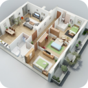 Icon for 3D House Plan Ideas