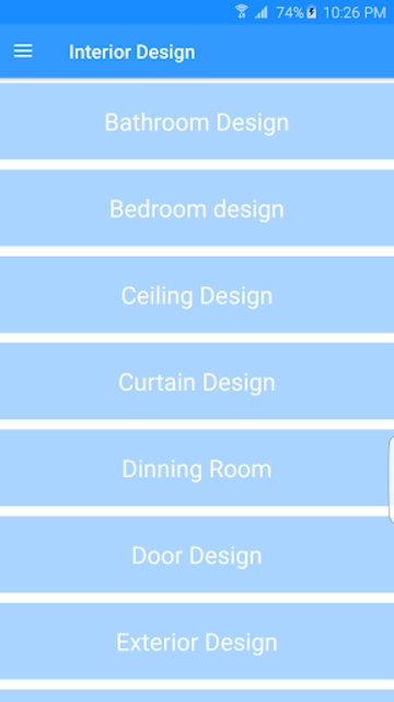 Interior Design screenshot 1