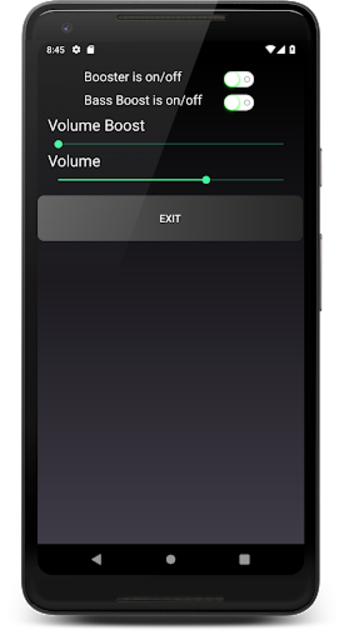 Headphones Volume Booster and Bass Booster screenshot 1