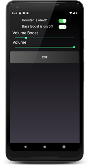 Headphones Volume Booster and Bass Booster screenshot 2