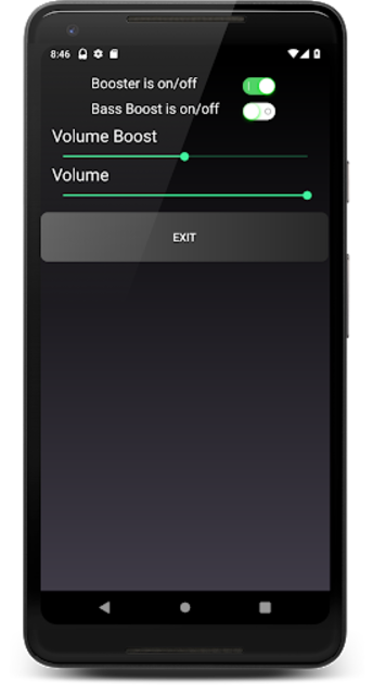 Headphones Volume Booster and Bass Booster screenshot 3