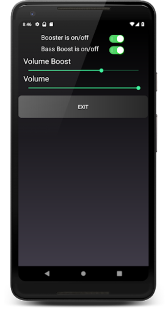 Headphones Volume Booster and Bass Booster screenshot 4